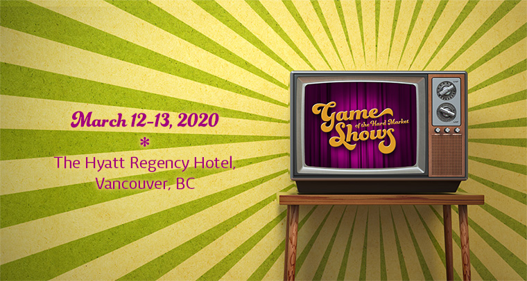 March 12-13, 2020 - The Hyatt Regency Hotel, Vancouver, BC